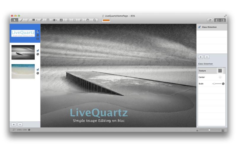 LiveQuartz Photo Edit screenshot