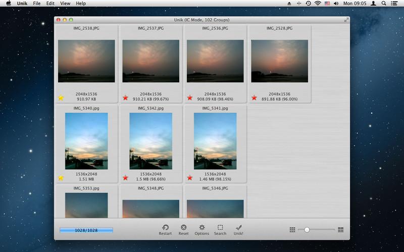 Unik: Duplicate Image Finder screenshot