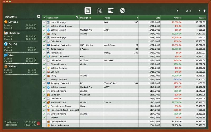 Checkbook HD - Personal Finance screenshot