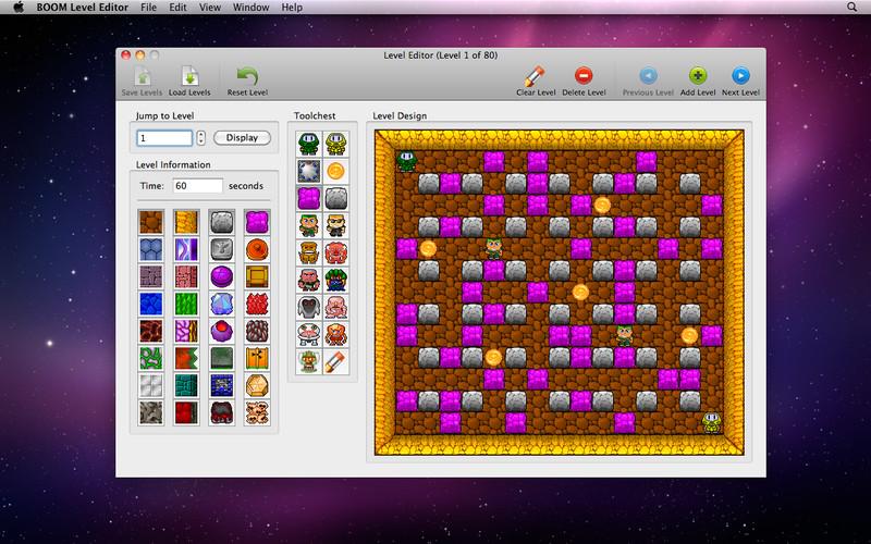 BOOM Level Editor screenshot