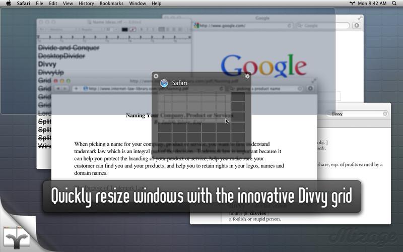 Divvy - Window Manager screenshot