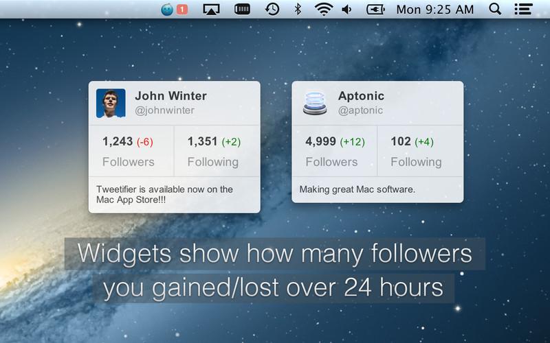 Tweetifier screenshot