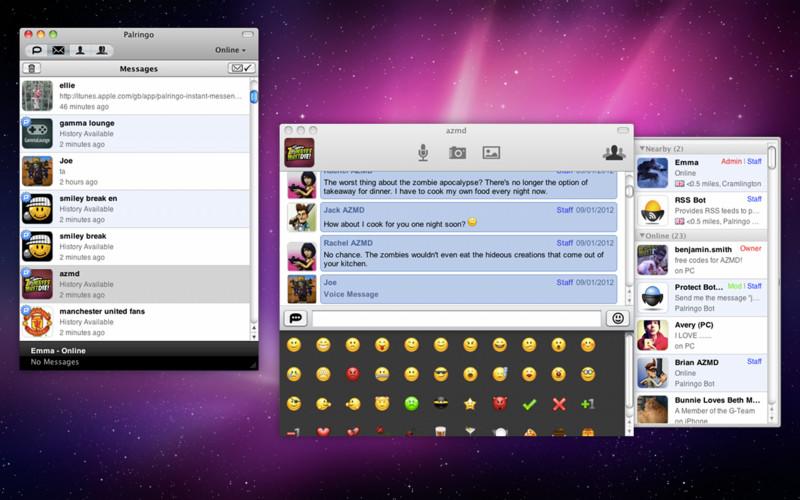 Palringo Instant Messenger screenshot