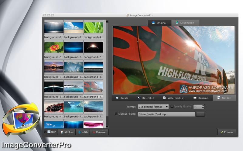 ImageConverterPro screenshot