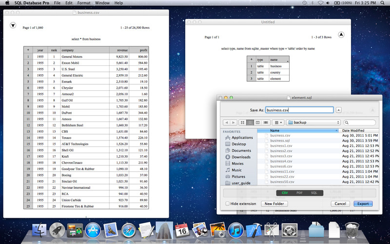 SQL Database Pro screenshot