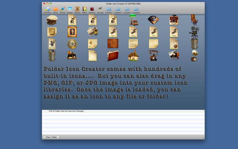 Folder Icon Changer screenshot