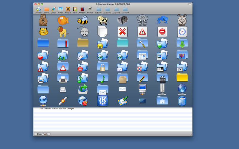 Folder Icon Changer screenshot