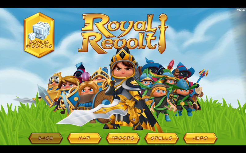 Royal Revolt! screenshot