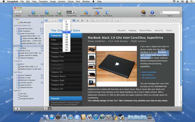 GarageSale screenshot