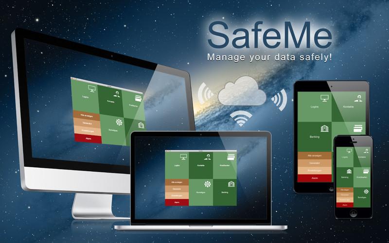 Password Manager - SafeMe screenshot
