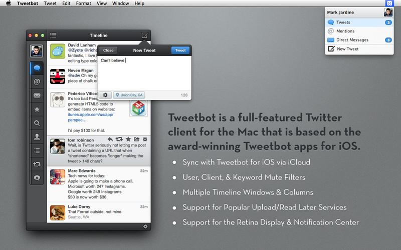 Tweetbot for Twitter screenshot
