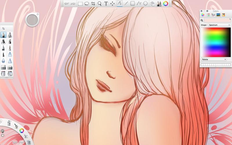 SketchBook Express screenshot