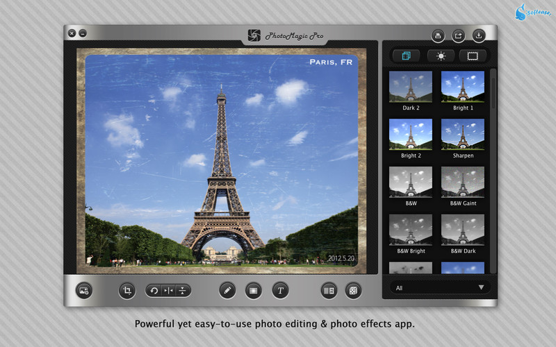 PhotoMagic Pro - Photo Editor & Photo Effects App screenshot
