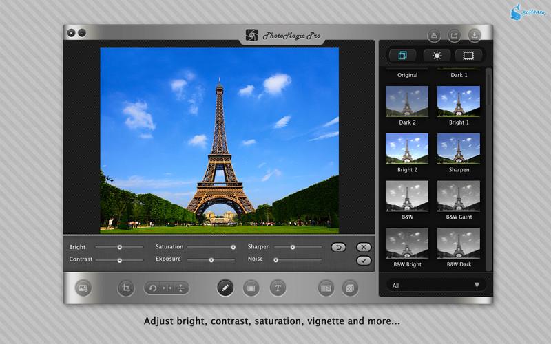 PhotoMagic Pro - Photo Editor & Photo Effects App screenshot