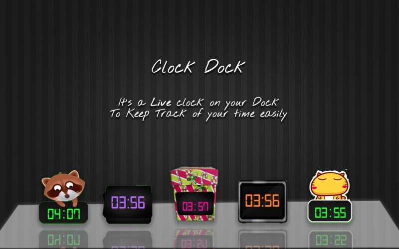 Clock Dock screenshot