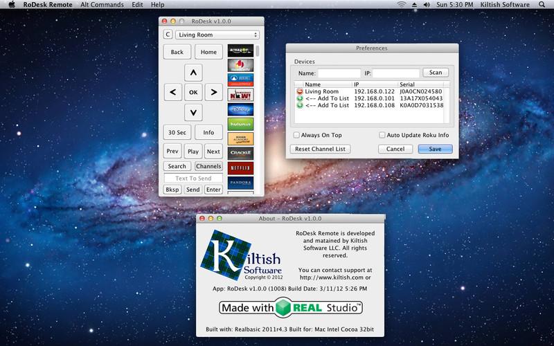 RoDesk Remote screenshot