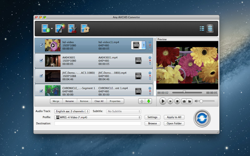 Download free Any AVCHD Converter for macOS