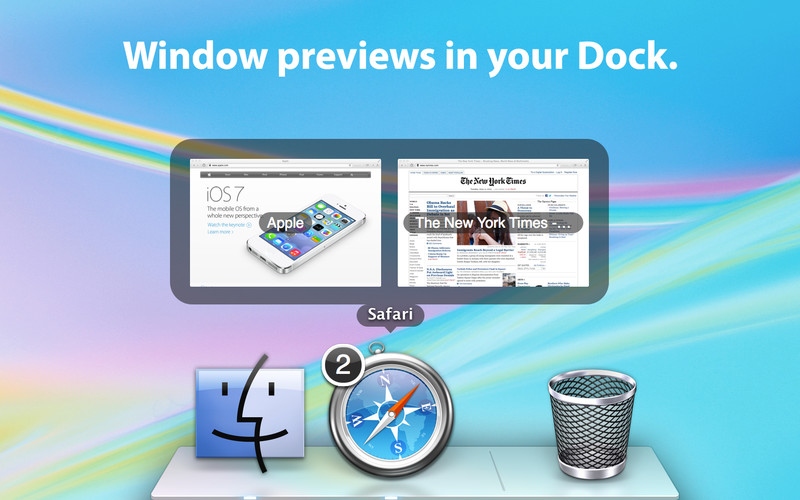 DockView screenshot