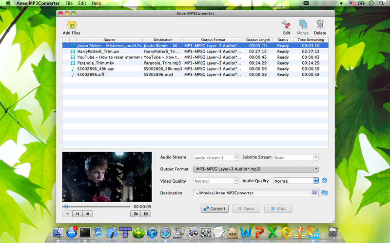 Anee MP3Converter screenshot