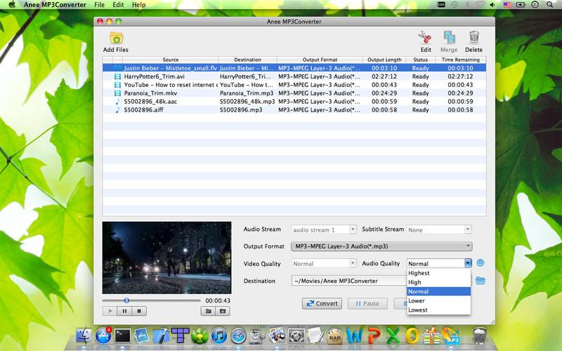 Anee MP3Converter screenshot