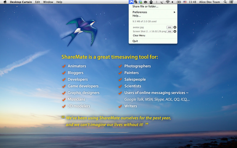 ShareMate screenshot