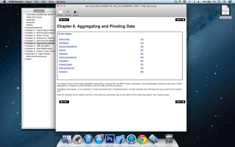 CHM Reader - Easy screenshot