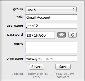 Adding New Account Data