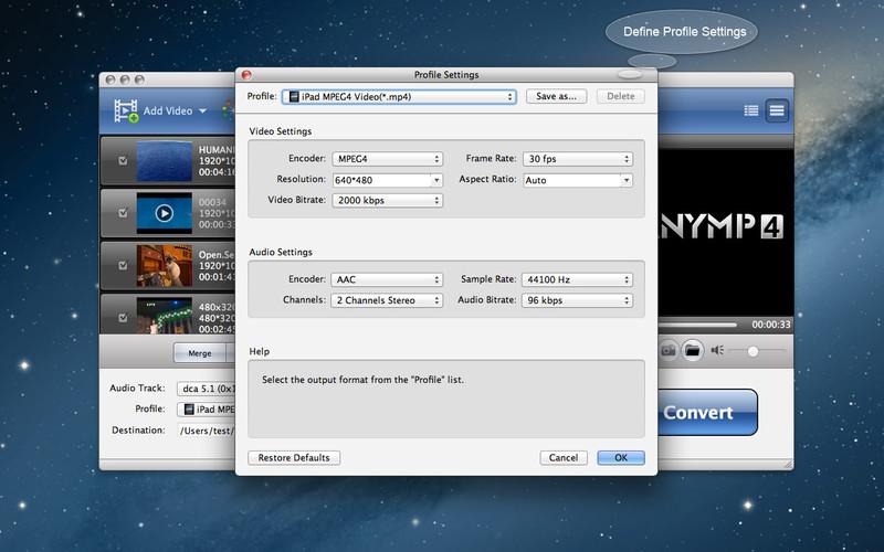 AnyMP4 MOD Converter screenshot