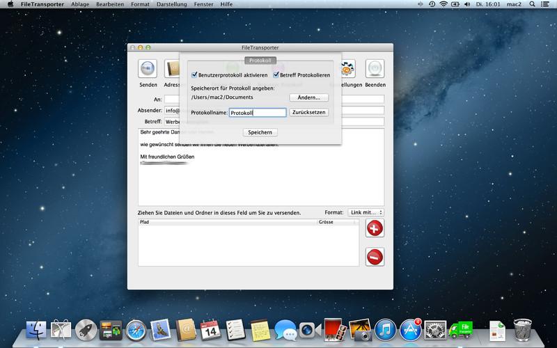 FileTransporter screenshot