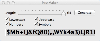 Generating Long Password