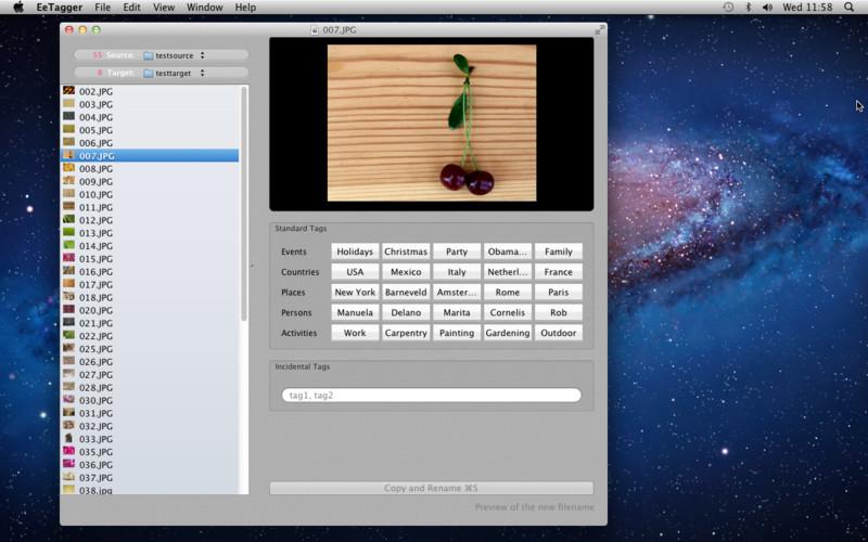 EeTagger Lite screenshot