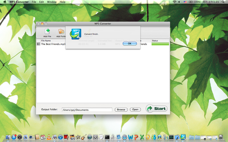 MP3 Converter screenshot