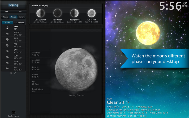 Clear Day - (Formerly Weather HD) screenshot