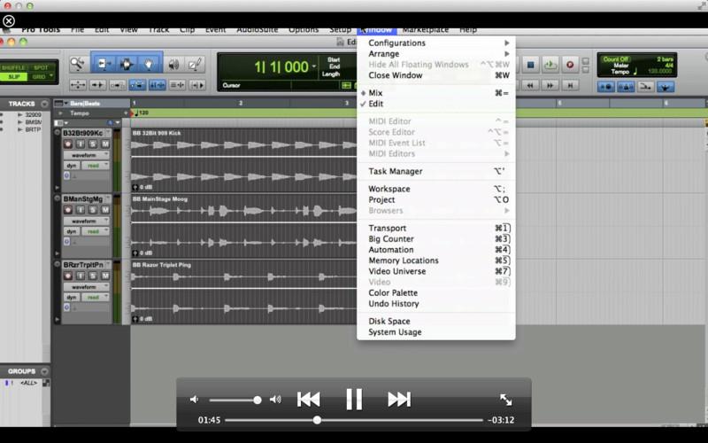MPV's Pro Tools Tutorials screenshot