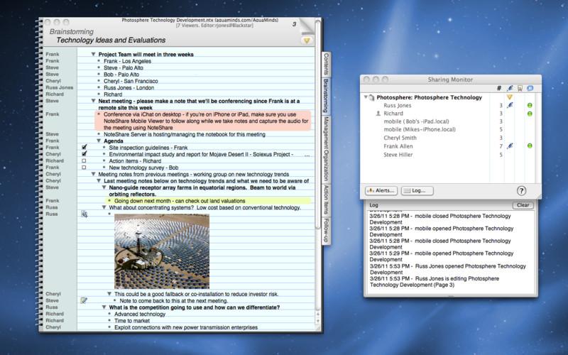 NoteShare screenshot