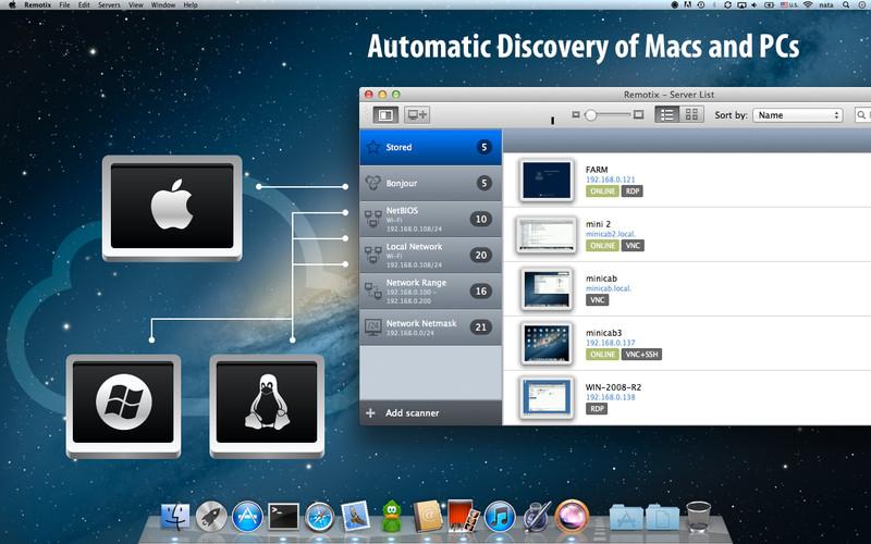 Remotix VNC & RDP screenshot