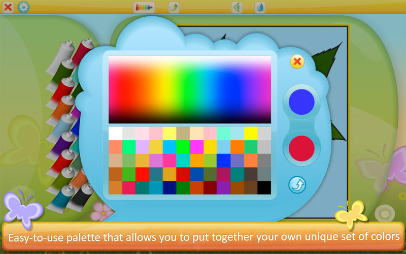 Color by Numbers - Flowers screenshot