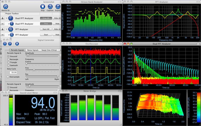 Electroacoustics Toolbox screenshot