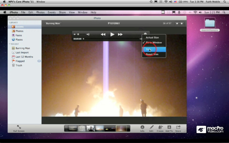 Course For iPhoto '11 101 - Core iPhoto '11 screenshot