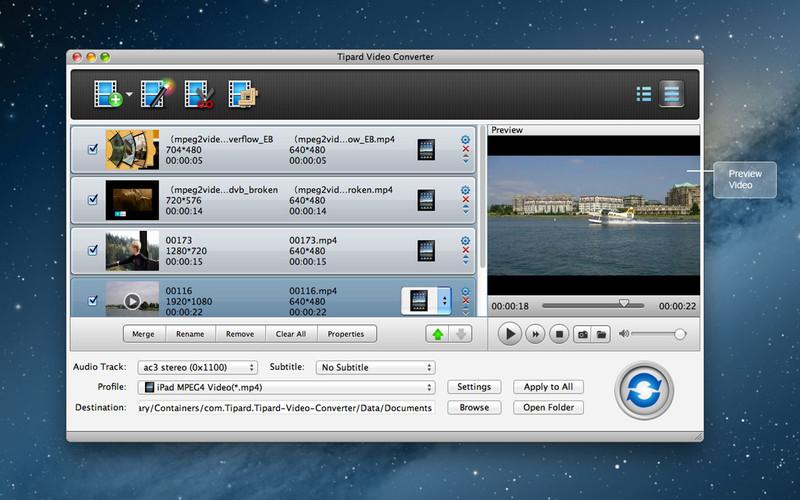 Tipard Video Converter screenshot