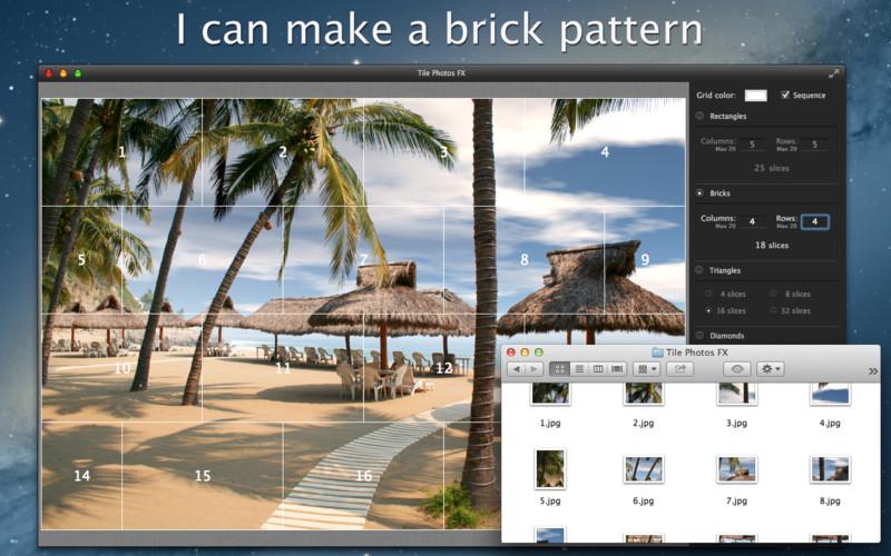 Tile Photos FX: Split and Print screenshot