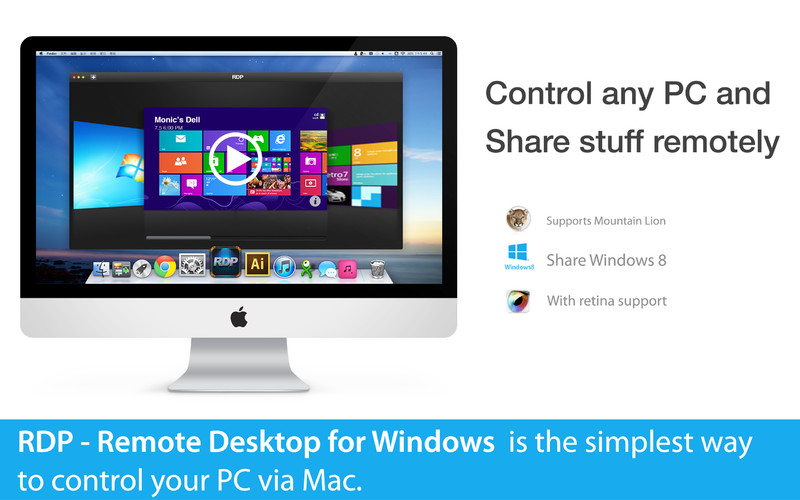RDP - Remote Desktop for Windows screenshot