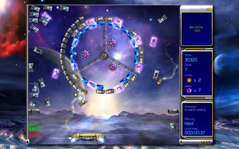 Hyperballoid 2 - Time Rider (Full) screenshot