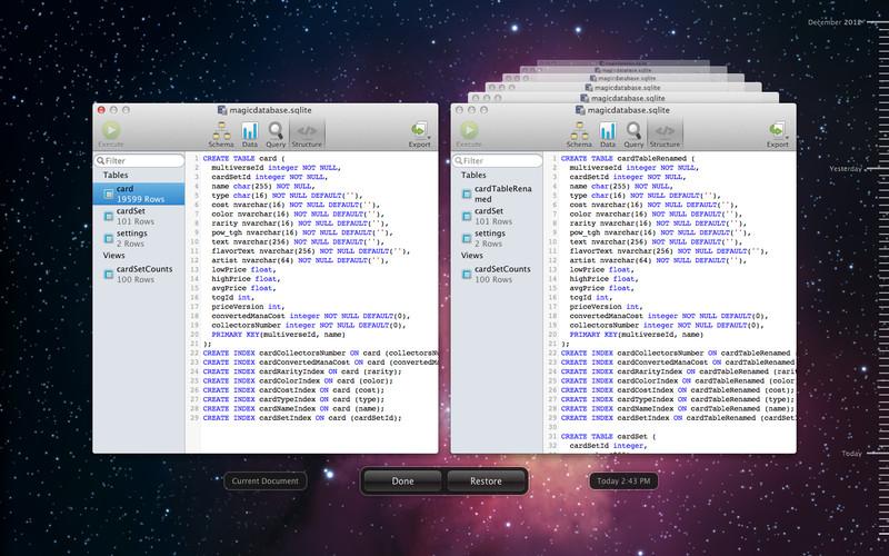 SQLite Professional screenshot