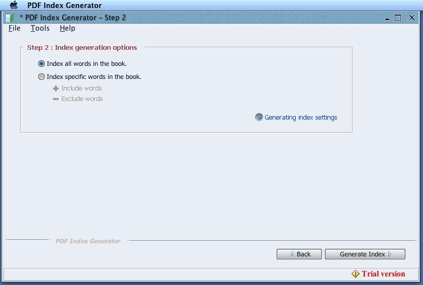 Download free PDF Index Generator for macOS