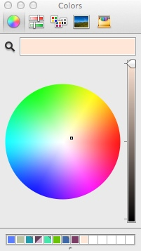 Selecting Break Time Background Color