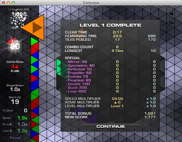 Complete Level Statistics