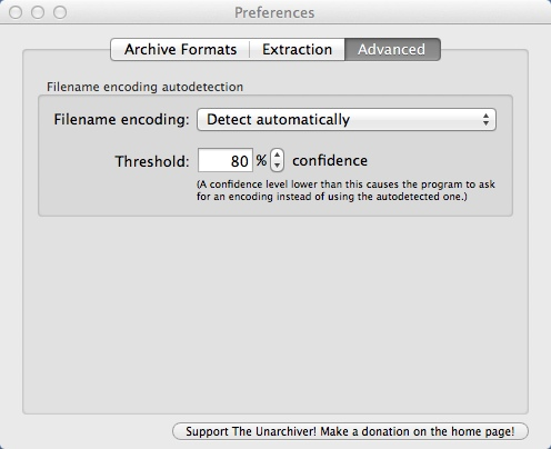 Configuring Advanced Program Settings