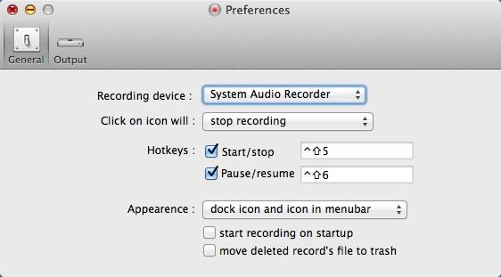 Configuring Recording Settings
