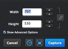 Configuring Screen Capture Settings